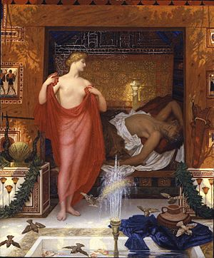William Blake Richmond - Image: William Blake Richmond Hera in the House of Hephaistos, 1902