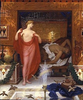 William Blake Richmond - Image: William Blake Richmond Hera in the House of Hephaistos, 1902