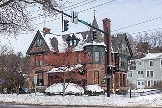 William Henry Miller (architect) - Image: William Henry Miller Inn, Ithaca, New York