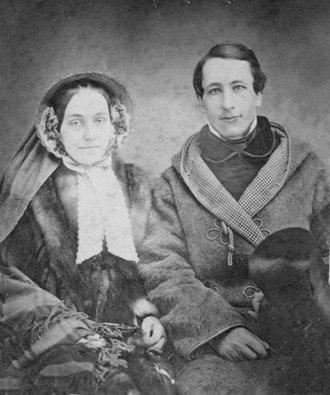 William S. Clark - Clark with his wife