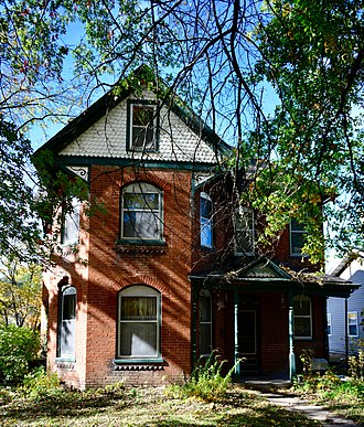 National Register of Historic Places listings in Cooper County, Missouri - Image: William S. and Mary Beckett House