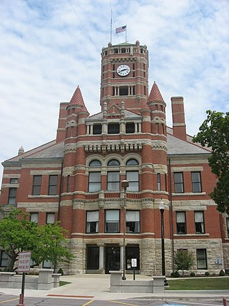 Williams County, Ohio - Image: Williams County Courthouse in Bryan