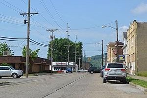 Yorkville, Ohio - Business district