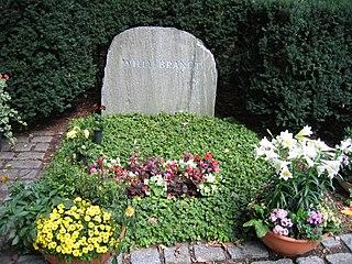 Waldfriedhof Zehlendorf cemetery in Berlin, Germany