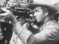 James Stewart in the 1950 film Winchester '73