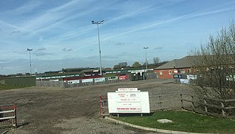 Wisbech Town F.C. - The new stadium.