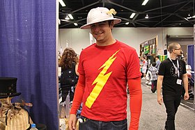 WonderCon 2015 - Jay Garrick (The Flash) (16861812828).jpg