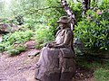Wooden Sculpture of Lady Anne Blantyre - geograph.org.uk - 471293.jpg