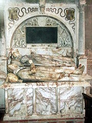 Tomb of George Bromley and Joan Waverton.