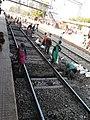 Work in progress in Morena station .jpg