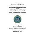 Worldwide Threat Assessment of the US Intelligence Community Unclassified 2015.pdf