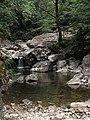 Wuyanling National Nature Reserve stream view.JPG