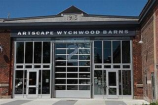 Wychwood Park Neighbourhood in Toronto, Ontario, Canada