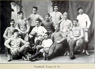1881 college football season - 1881 Yale Bulldogs