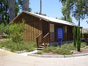 Beit Keshet - Wooden hut of former Israeli President Yitzhak Ben-Zvi in Beit Keshet