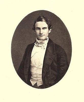 Francis Parkman - Image: Young Francis Parkman
