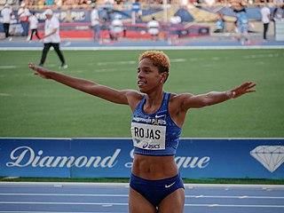 Yulimar Rojas Venezuelan athlete