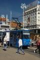Záhřeb, náměstí bána Josipa Jelačiće, tramvaj.jpg