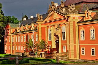 Dobříš - Image: Zámek Dobříš 29.6