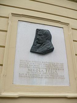 Nikola Tesla Vikipedi