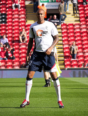 Zat Knight - Knight training with Bolton Wanderers in 2011