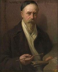 Zelfportret, circa 1858 - circa 1940, Groeningemuseum, 0040653000.jpg