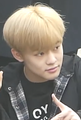 Zhong Chenle going to a Music Bank recording in April 2018 01.png