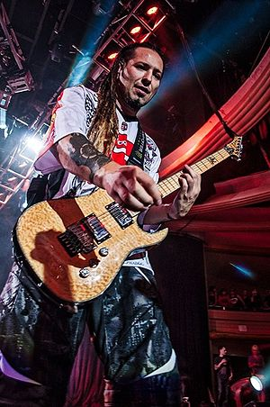 Zoltan Bathory - Zoltán Báthory performing with Five Finger Death Punch