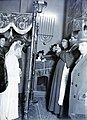 Zsidó eskűvői fotó, 1948 Budapest. Fortepan 104888.jpg