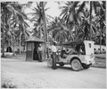 """... entrance to the U.S. Navy Base Camp Annex, Espiritu Santo, New Hebrides."", ca. 1941 - ca. 1945 - NARA - 520632.tif"