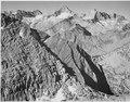 """Mt. Brewer, Kings River Canyon (Proposed as a national park),"" California, 1936., ca. 1936 - NARA - 519924.tif"