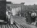 """Scene on the Roof on the Mott Street Barracks"" (5389942542).jpg"