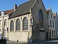 """""""Speelmanskapel"""", voormalige kapel van de speelliedengilde, Beenhouwerstraat 1, Brugge.JPG"""
