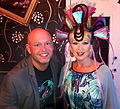 """TV Presenter Craig Wilde and 1980's Punk Icon Toyah Wilcox 2012 Newcastle Pride event"".jpg"