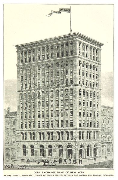 File:(King1893NYC) pg737 CORN EXCHANGE BANK OF NEW YORK. WILLIAM STREET, NORTHWEST CORNER OF BEAVER STREET, BETWEEN THE COTTON AND PRODUCE EXCHANGES.jpg