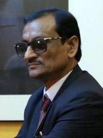 Lumbini Sanskritik - Man Mohan Chaudhary, mayor of Lumbini Sanskritik.