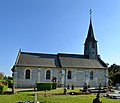 Église Saint-Désir de Fierville-les-Parcs. Vue nord.jpg