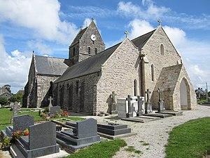 Saint-Germain-le-Gaillard, Manche - The church of Saint Germain
