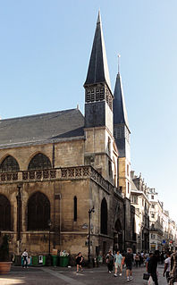 Church in arrondissement of Paris, France