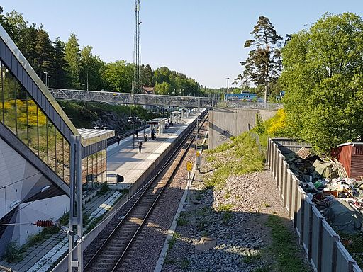 Ösmo station 1