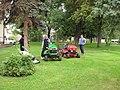 Úpohlavy, sekačky trávy.JPG