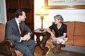 Συνάντηση ΥΠΕΞ, κ. Δ. Δρούτσα, με Γενική Διευθύντρια UNESCO, κα I. Bokova (4973878844).jpg