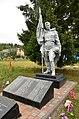 Братська могила воїнів Радянської Армії, село Липовий Скиток, біля церкви.JPG