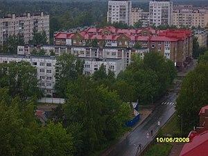Vsevolozhsk - Vsevolozhsk as seen from the sixteenth floor of an apartment building
