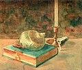 Девлеткильдеев На молитве 1916.jpg