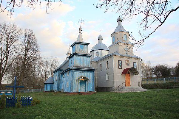 Дерев'яна церква Малі Садки