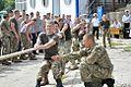 Курсанти факультету Військово-Морських Сил провели змагання з курсантами Військової академії міста Одеса (27713996042).jpg
