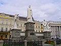 Пам'ятник княгині Ользі, святому апостолу Андрію Первозваному та просвітителям Кирилу і Мефодію Київ Михайлівська пл.JPG