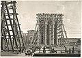 СПБ. Установка колонн Исаакиевского собора (к 1830). Лит.~1845г 15 e1.jpg