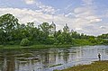 Собор Спасо-Преображенский. Вид через реку Тверца в июне.JPG